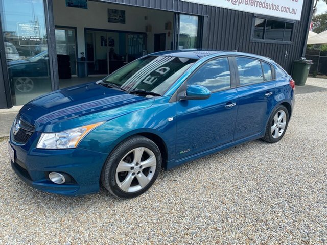 Used Holden Cruze JH MY12 SRi V, 2011 Holden Cruze JH MY12 SRi V Blue 6 Speed Automatic Hatchback