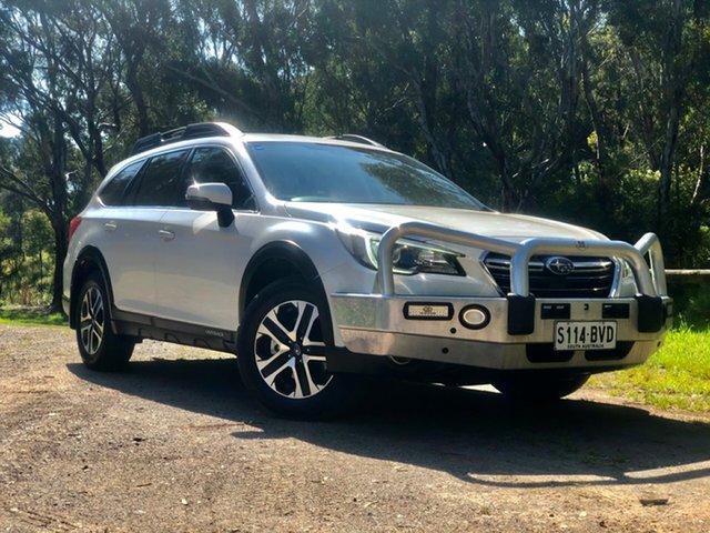 Used Subaru Outback B6A MY18 2.0D CVT AWD, 2018 Subaru Outback B6A MY18 2.0D CVT AWD White 7 Speed Constant Variable Wagon