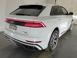 2020 Audi Q8 4M MY20 55 TFSI Tiptronic Quattro Glacier White 8 Speed Sports Automatic Wagon