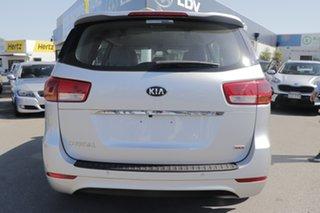 2018 Kia Carnival YP MY18 S Silky Silver 6 Speed Sports Automatic Wagon