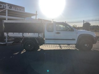 2007 Holden Rodeo RA MY07 LX (4x4) White 5 Speed Manual Space Cab Chassis.