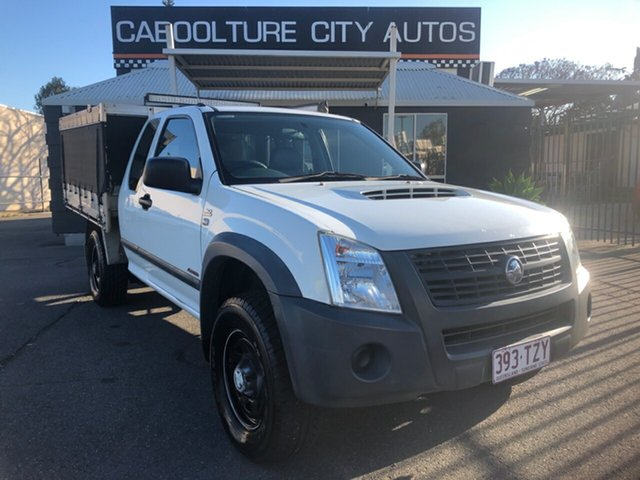 Used Holden Rodeo RA MY07 LX (4x4) Morayfield, 2007 Holden Rodeo RA MY07 LX (4x4) White 5 Speed Manual Space Cab Chassis