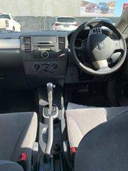 2009 Nissan Tiida C11 MY07 ST-L Silver 4 Speed Automatic Sedan