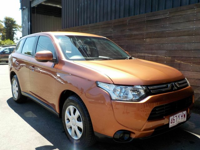 Used Mitsubishi Outlander ZJ MY13 ES 4WD Labrador, 2013 Mitsubishi Outlander ZJ MY13 ES 4WD Bronze 6 Speed Constant Variable Wagon