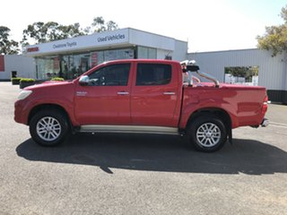 2012 Toyota Hilux KUN26R MY12 SR5 Double Cab Red 4 Speed Automatic Utility