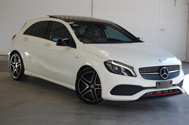 Used Mercedes-Benz A-Class W176 806MY A250 D-CT 4MATIC Sport, 2015 Mercedes-Benz A-Class W176 806MY A250 D-CT 4MATIC Sport White 7 Speed