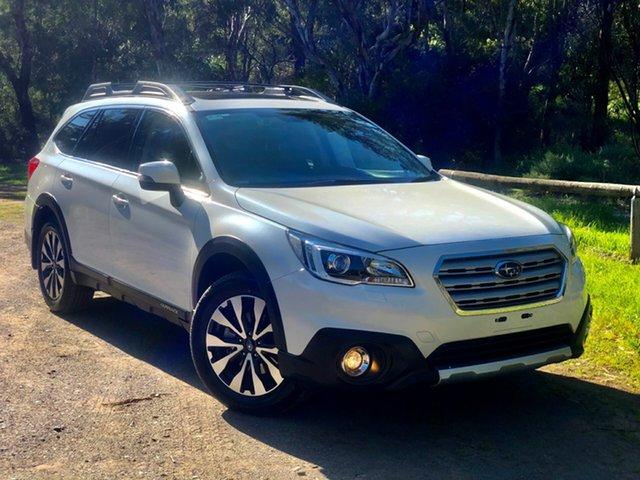 Used Subaru Outback B6A MY17 2.5i CVT AWD Premium, 2017 Subaru Outback B6A MY17 2.5i CVT AWD Premium White 6 Speed Constant Variable Wagon