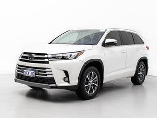 2018 Toyota Kluger GSU55R MY18 GXL (4x4) White 8 Speed Automatic Wagon.
