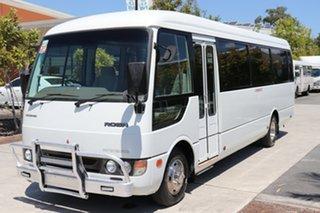 2003 Mitsubishi Rosa Standard White Manual Midi Coach.