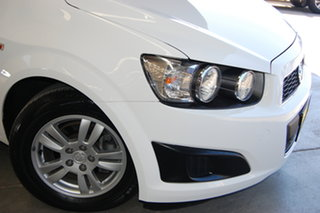 2016 Holden Barina TM MY16 CD White 6 Speed Automatic Sedan.