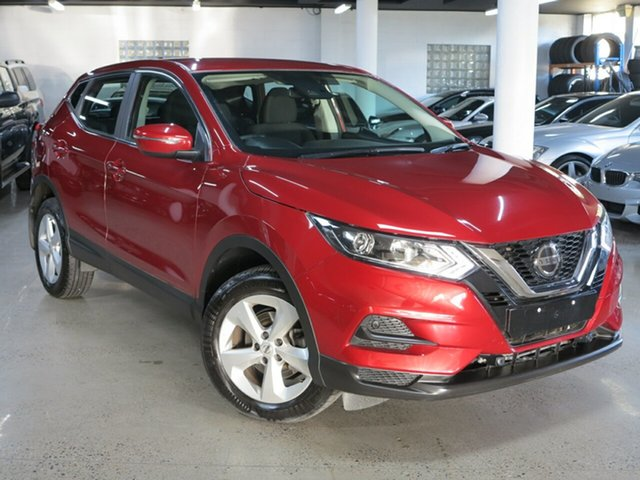 Used Nissan Qashqai J11 Series 3 MY20 ST X-tronic Albion, 2019 Nissan Qashqai J11 Series 3 MY20 ST X-tronic Red 1 Speed Constant Variable Wagon