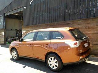 2013 Mitsubishi Outlander ZJ MY13 ES 4WD Bronze 6 Speed Constant Variable Wagon
