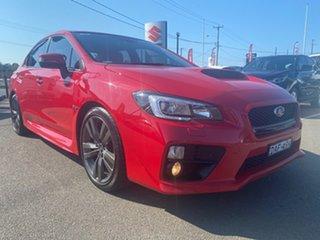 2015 Subaru WRX V1 MY16 Premium Lineartronic AWD Red 8 Speed Constant Variable Sedan.