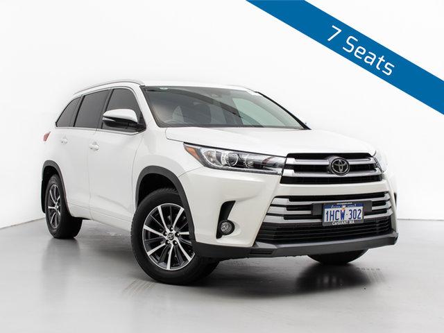 Used Toyota Kluger GSU55R MY18 GXL (4x4), 2018 Toyota Kluger GSU55R MY18 GXL (4x4) White 8 Speed Automatic Wagon