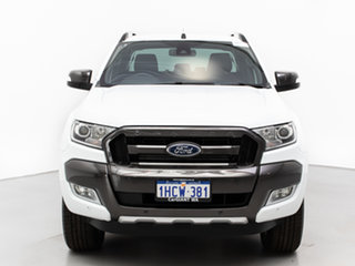 2018 Ford Ranger PX MkII MY18 Wildtrak 3.2 (4x4) White 6 Speed Manual Dual Cab Pick-up.