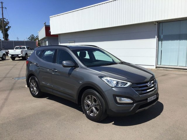 Used Hyundai Santa Fe DM MY14 Active, 2013 Hyundai Santa Fe DM MY14 Active Dark Blue 6 Speed Sports Automatic Wagon