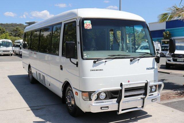 Used Mitsubishi Rosa  Standard, 2003 Mitsubishi Rosa Standard White Manual Midi Coach