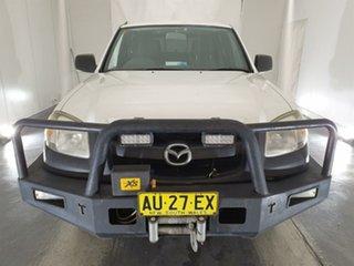 2008 Mazda BT-50 UNY0E4 DX White 5 Speed Manual Utility.