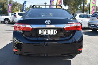 2015 Toyota Corolla ZRE172R SX S-CVT Black 7 Speed Constant Variable Sedan