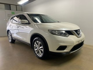 2014 Nissan X-Trail T32 ST (4x4) White Continuous Variable Wagon.
