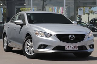 2014 Mazda 6 GJ1031 Sport SKYACTIV-Drive Silver 6 Speed Sports Automatic Sedan.