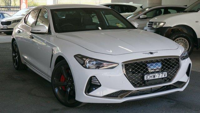 Used Genesis G70 IK MY19 Sport, 2018 Genesis G70 IK MY19 Sport White 8 Speed Sports Automatic Sedan
