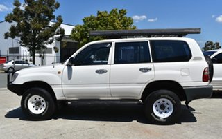 2004 Toyota Landcruiser HZJ105R (4x4) White 5 Speed Manual 4x4 Wagon