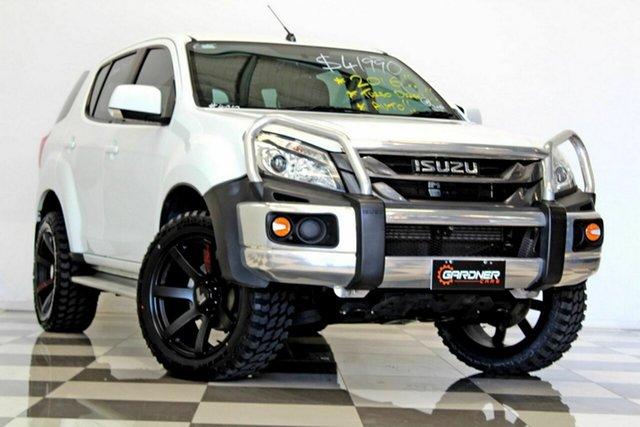 Used Isuzu MU-X UC MY15.5 LS-M (4x2) Burleigh Heads, 2016 Isuzu MU-X UC MY15.5 LS-M (4x2) White 5 Speed Automatic Wagon