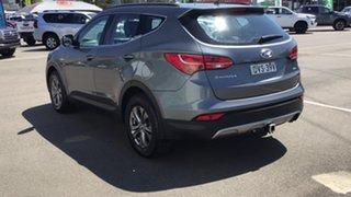 2013 Hyundai Santa Fe DM MY14 Active Dark Blue 6 Speed Sports Automatic Wagon.