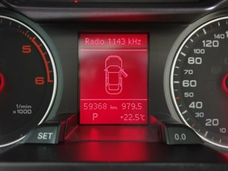 2008 Audi A4 B8 8K Multitronic Blue 8 Speed Constant Variable Sedan