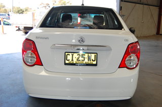 2016 Holden Barina TM MY16 CD White 6 Speed Automatic Sedan