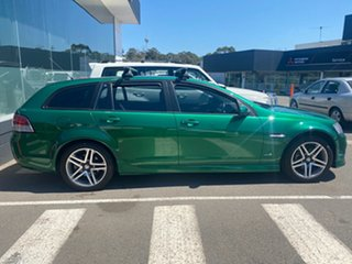 2011 Holden Commodore VE II SV6 Sportwagon Green 6 Speed Sports Automatic Wagon.