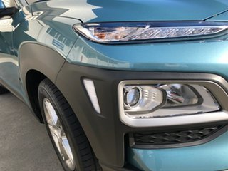 2020 Hyundai Kona OS.3 MY20 Active D-CT AWD Ceramic Blue 7 Speed Sports Automatic Dual Clutch Wagon.