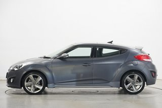 2014 Hyundai Veloster FS3 + Coupe Grey 6 Speed Manual Hatchback.