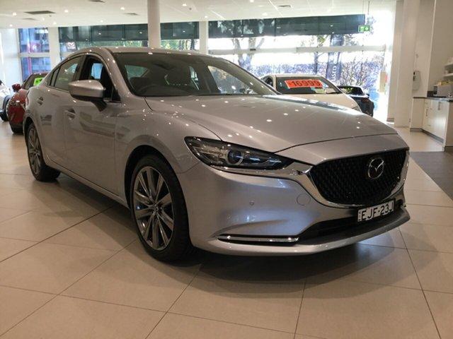 Used Mazda 6 GL1033 GT SKYACTIV-Drive, 2019 Mazda 6 GL1033 GT SKYACTIV-Drive Sonic Silver 6 Speed Sports Automatic Sedan