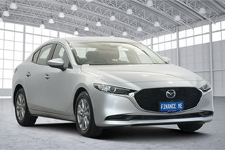 2019 Mazda 3 BP2S76 G20 SKYACTIV-MT Pure Silver 6 Speed Manual Sedan.