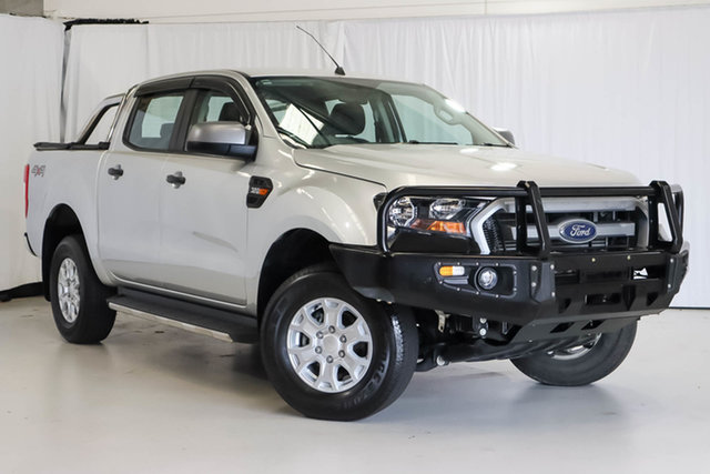 Used Ford Ranger PX MkII XLS Double Cab, 2017 Ford Ranger PX MkII XLS Double Cab Silver 6 Speed Sports Automatic Utility