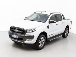 2018 Ford Ranger PX MkII MY18 Wildtrak 3.2 (4x4) White 6 Speed Manual Dual Cab Pick-up