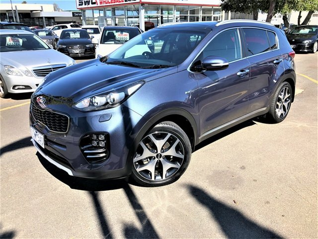 Used Kia Sportage QL MY16 Platinum AWD Seaford, 2016 Kia Sportage QL MY16 Platinum AWD Blue 6 Speed Sports Automatic Wagon