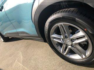 2020 Hyundai Kona OS.3 MY20 Active D-CT AWD Ceramic Blue 7 Speed Sports Automatic Dual Clutch Wagon