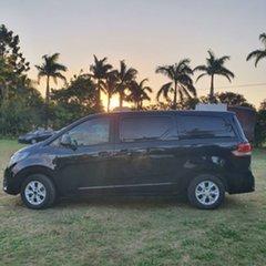 2016 LDV G10 SV7C Black 6 Speed Sports Automatic Van