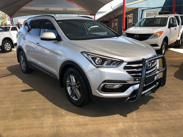 Used Hyundai Santa Fe DM Series II (DM3) Active CRDi (4x4) Toowoomba, 2016 Hyundai Santa Fe DM Series II (DM3) Active CRDi (4x4) Silver 6 Speed Automatic Wagon