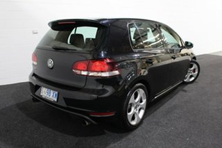 2010 Volkswagen Golf VI MY11 GTI DSG Black 6 Speed Sports Automatic Dual Clutch Hatchback