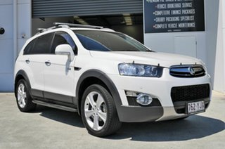 2013 Holden Captiva CG Series II MY12 7 AWD LX White 6 Speed Sports Automatic Wagon.