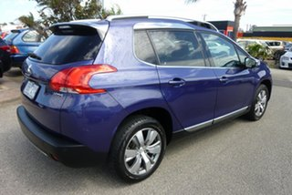 2014 Peugeot 2008 A94 Allure Blue 4 Speed Sports Automatic Wagon