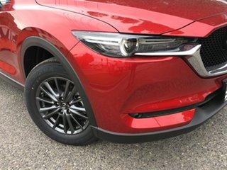 2020 Mazda CX-5 KF4WLA Maxx SKYACTIV-Drive i-ACTIV AWD Sport Soul Red 6 Speed Sports Automatic Wagon.