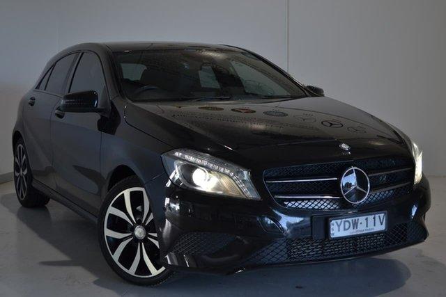Used Mercedes-Benz A-Class W176 805+055MY A200 CDI D-CT, 2015 Mercedes-Benz A-Class W176 805+055MY A200 CDI D-CT Black 7 Speed Sports Automatic Dual Clutch