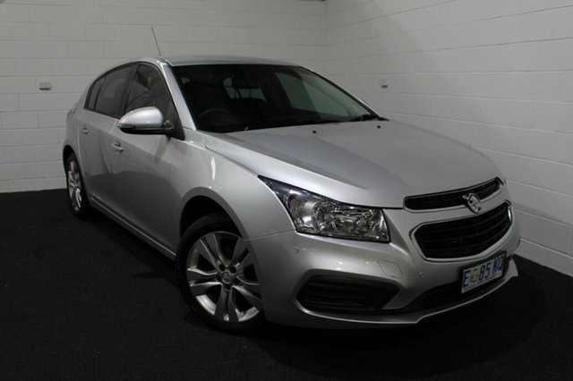 Used Holden Cruze JH Series II MY16 Equipe, 2015 Holden Cruze JH Series II MY16 Equipe Silver 6 Speed Sports Automatic Hatchback