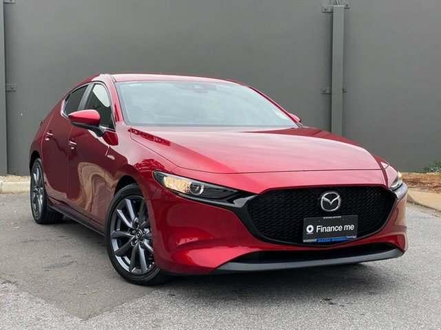 Demo Mazda 3 BP2HLA G25 SKYACTIV-Drive Evolve Hindmarsh, 2020 Mazda 3 BP2HLA G25 SKYACTIV-Drive Evolve Soul Red Crystal 6 Speed Sports Automatic Hatchback
