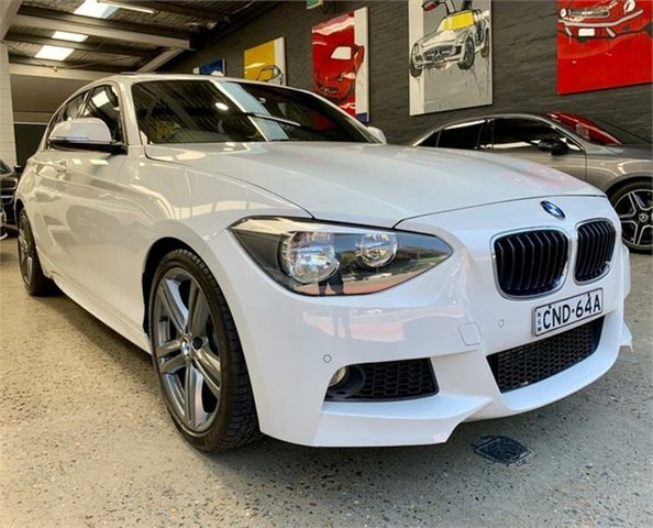 Used BMW 125i F20 125i, 2013 BMW 125i F20 125i White Sports Automatic Hatchback